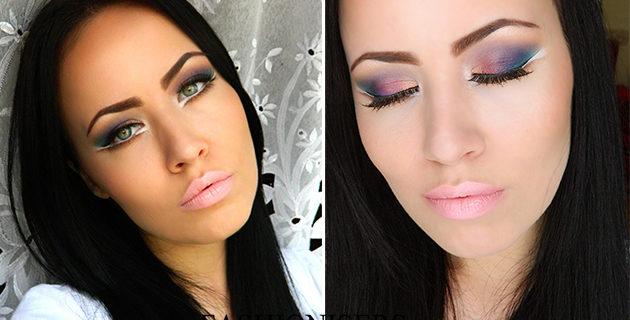 Party Makeup: Bird of Paradise Eye Makeup Tutorial