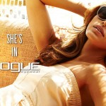 Eva Mendes for Vogue Eyewear 2013 Collection