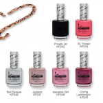 Kinetics Leather &amp; Sand Nail Polish Collection 2013