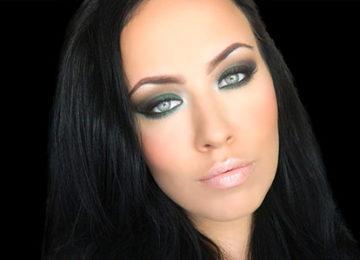 Emerald Green Smokey Eye Makeup Tutorial