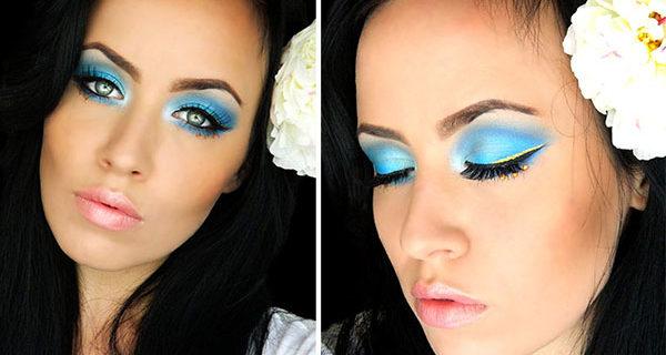 Dior-Inspired Bejeweled Eye Makeup Tutorial
