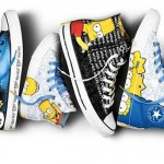 Converse x The Simpsons Sneakers 2013