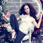 Joan Smalls for H&M Romantic Edge Summer 2013 Lookbook