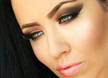 Orange & Brown Smokey Eye Makeup Tutorial