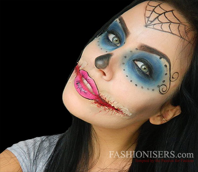 Monster Makeup Style Guru Fashion Glitz Glamour