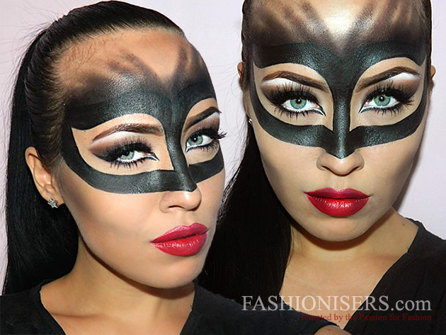 Catwoman Makeup Tutorial for Halloween