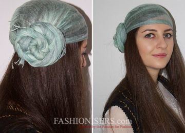 How to Style Hair with a Scarf