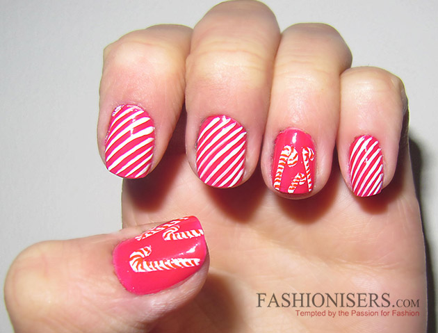 New Year's Eve Nail Art Designs - Christmas Candies Nails