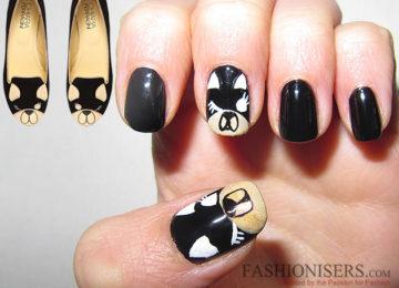 Chiara Ferragni Shoes Inspired Nail Art Designs