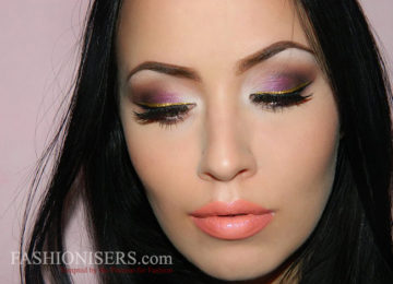 Pretty Purple Prom Makeup Tutorial