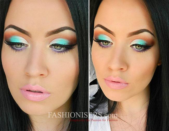 Energizing Mint Green Makeup Tutorial