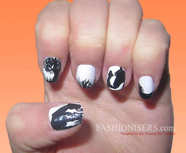 Cute Horse Nail Art Designs | Fashionisers