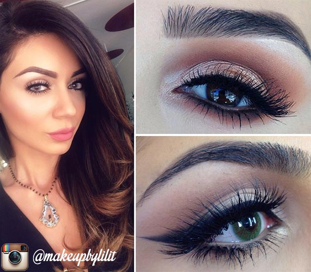 15 Instagram Beauty Gurus Worth Following: Makeup by Lilit