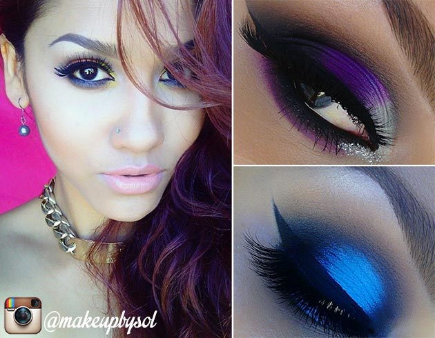 15 Instagram Beauty Gurus Worth Following: Makeup by Sol