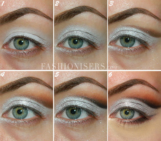 Metallic Silver Bridal Makeup Tutorial