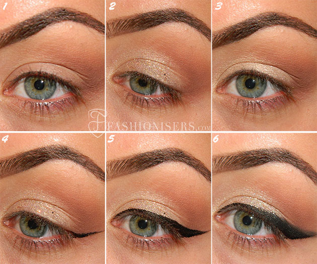 Bold Cat Eye Makeup Tutorial