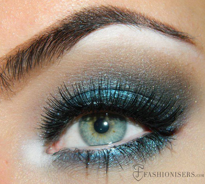 10 Dramatic Smokey Eye Makeup Ideas | Fashionisers©