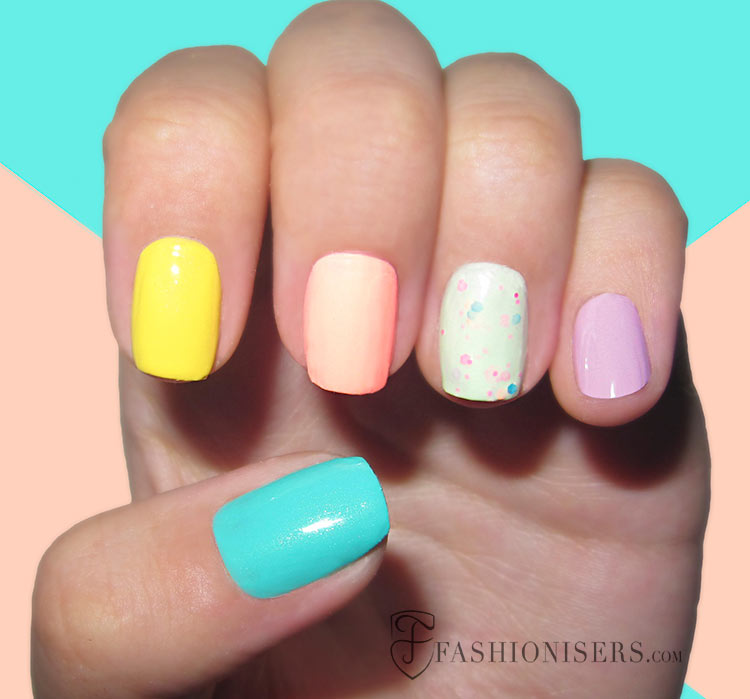 20 Fun Summer Nail Art Designs Fashionisers