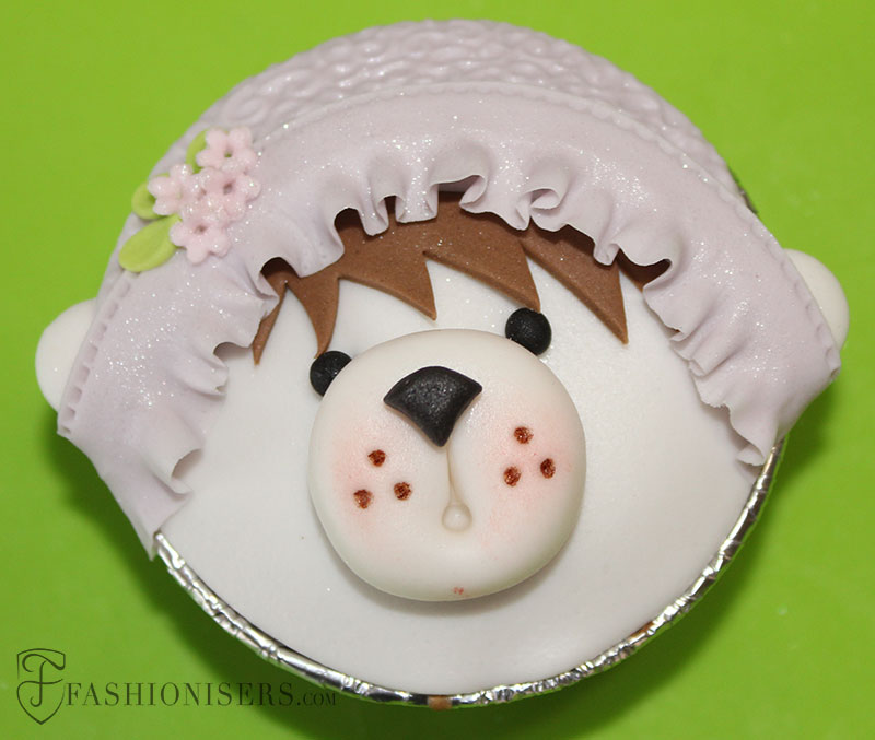 Bear Gumpaste Cupcake Decorating Tutorial