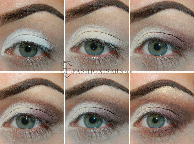 Neutral Smokey Eye With A Twist Makeup Tutorial Fashionisers