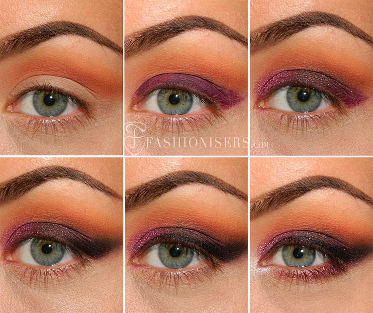 Pretty Pansy Purple Smokey Eye Makeup Tutorial