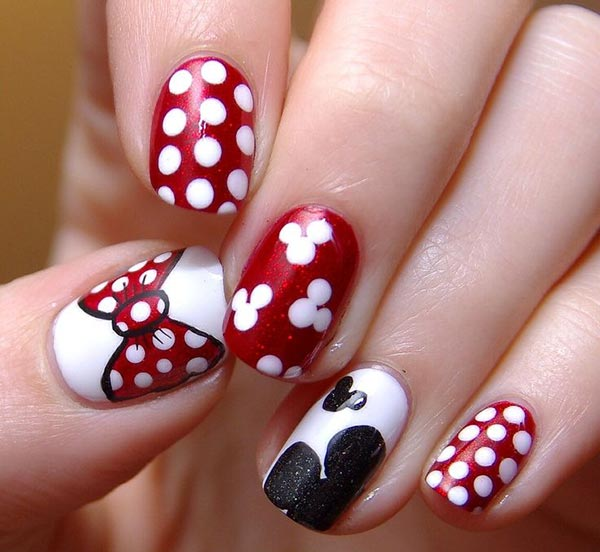 101 classy nail art designs for short nails fashionisers 80 classy nail art designs for short nails prinsesfo Gallery