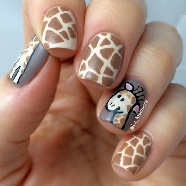 80 classy nail art designs for short nails - Simple Nail Design Ideas