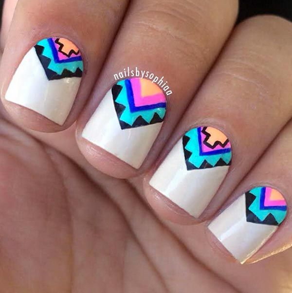 Manicure Designs For Short Nails: 101 Classy Nail Art Designs For Short Nails