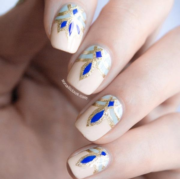101 classy nail art designs for short nails fashionisers 80 classy nail art designs for short nails prinsesfo Image collections