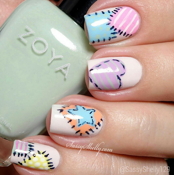 Instagram-Inspired 10 Smashing Nail Art Designs for Long Nails