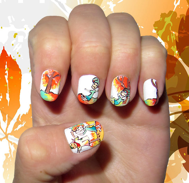 13 Dreamy Fall Nail Art Designs That Are More Than Exciting - 13 Dreamy Fall Nail Art Designs That Are More Than Exciting