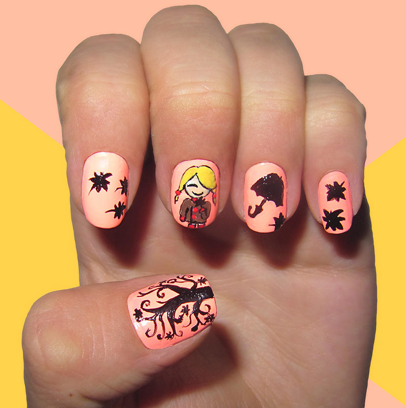 13 Dreamy Fall Nail Art Designs That Are More Than Exciting ...