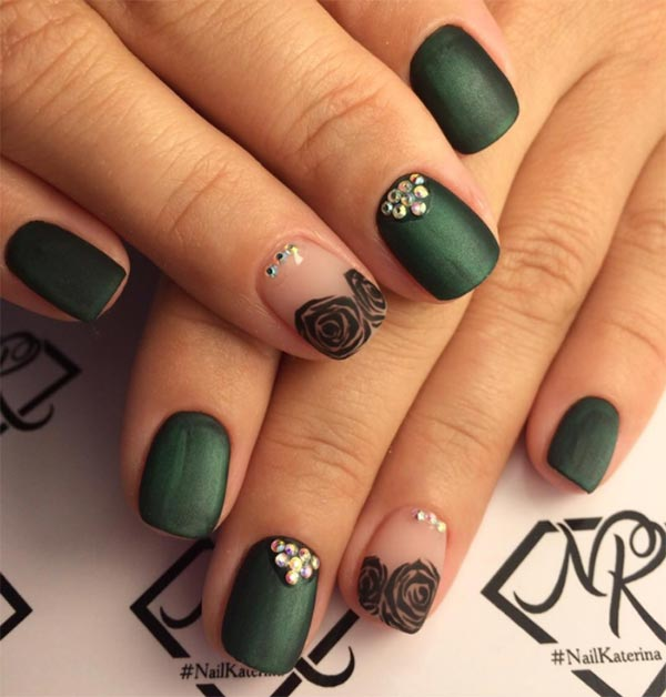 101 classy nail art designs for short nails fashionisers classy nail art designs for short nails prinsesfo Images