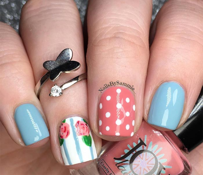 Classy Nail Art Designs for Short Nails