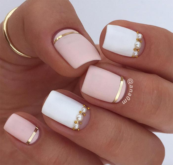 classy nail art designs for short nails - Simple Nail Design Ideas