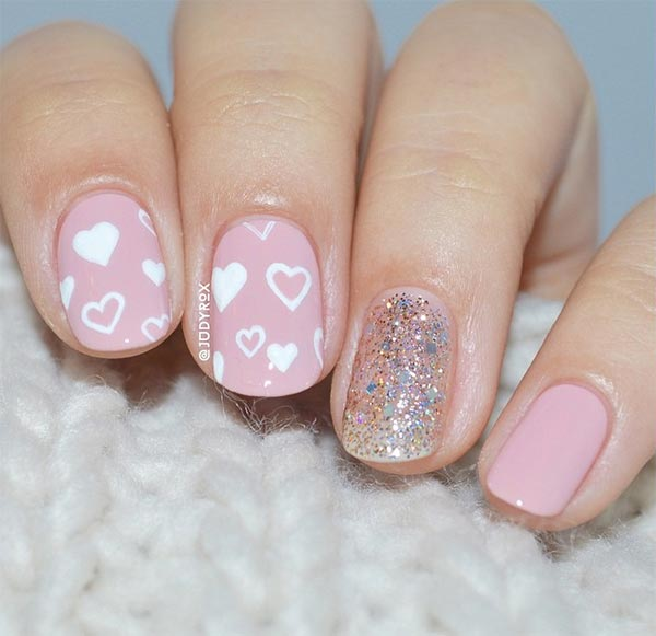 101 classy nail art designs for short nails fashionisers classy nail art designs for short nails prinsesfo Gallery