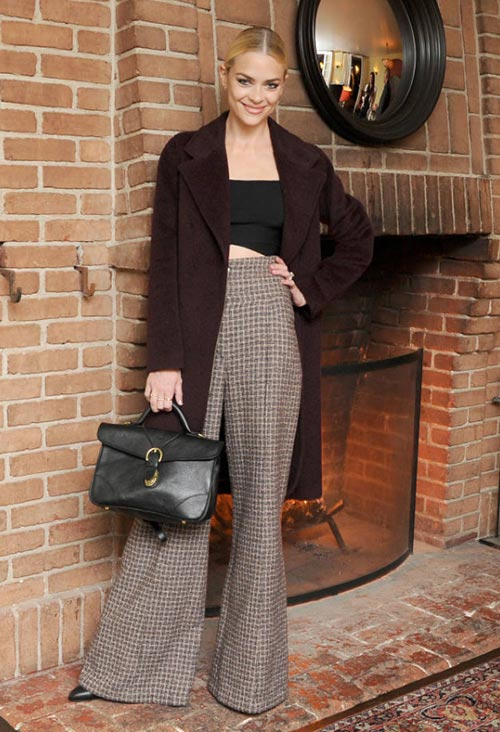 Holiday Party Style Tips for 2014: High-Waisted and Wide-Legged