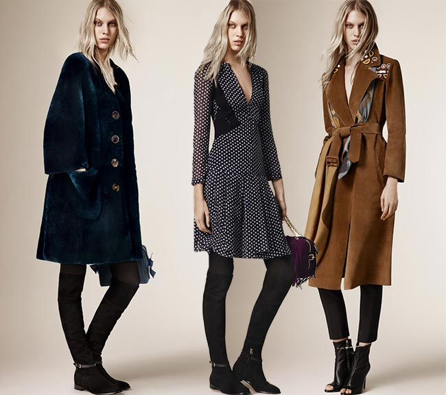 Burberry Prorsum Pre-Fall 2015 Collection