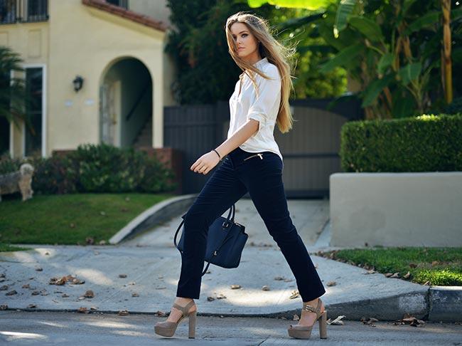 Kristina Bazan's Style
