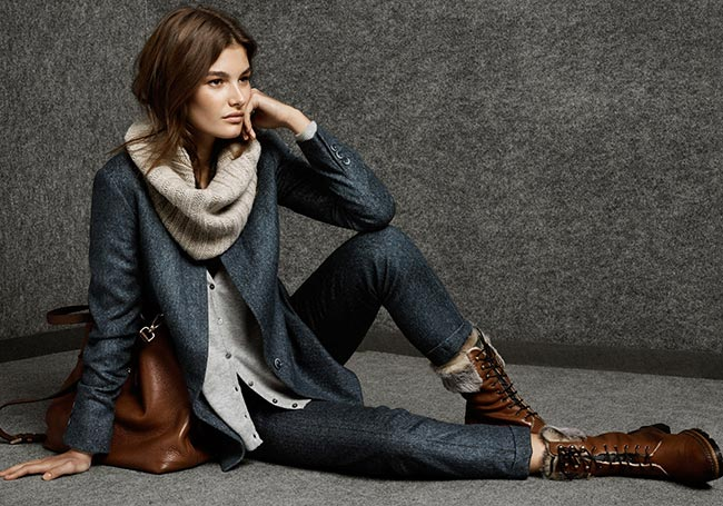 Massimo Dutti November 2014 Lookbook