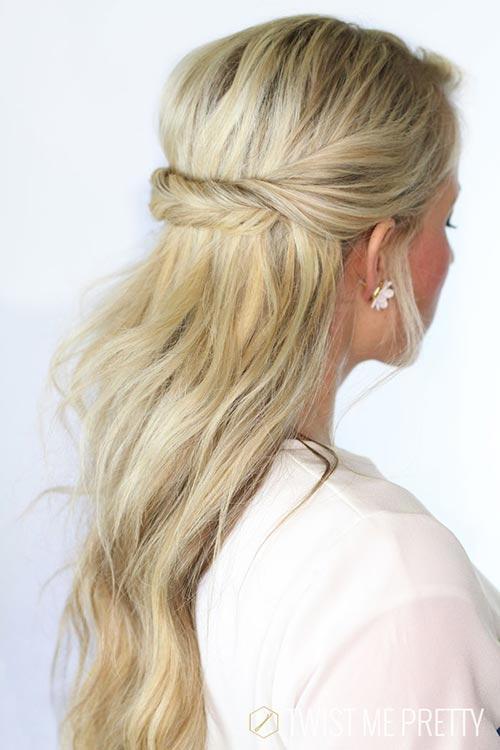 8 Easy and Cute Hairstyles for Lazy Girls: Twists