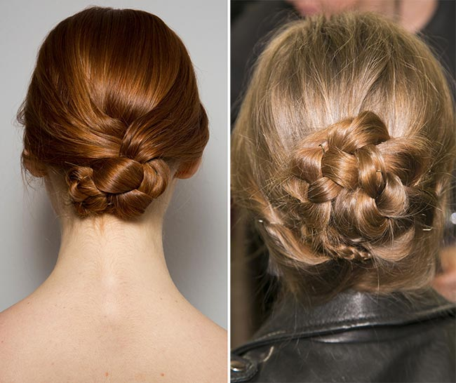 Best Runway Braided Hairstyles for Fall/ Winter 2014-2015
