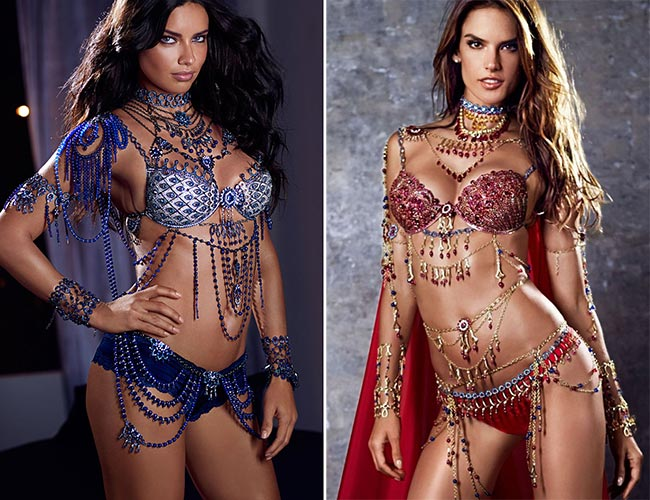 2014: Victoria's Secret Fantasy Bras