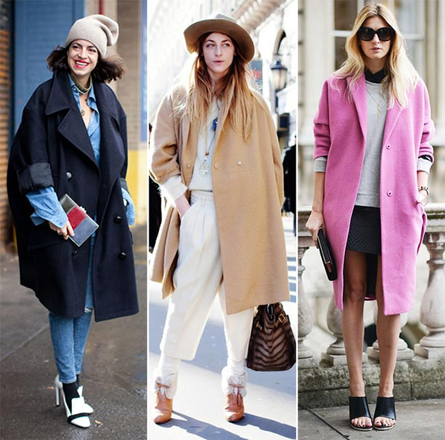 Long VS Oversized Coats: The Hottest Outerwear Trends for Winter ...