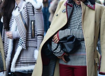 Fresh Ways to Wear Houndstooth in the Streets
