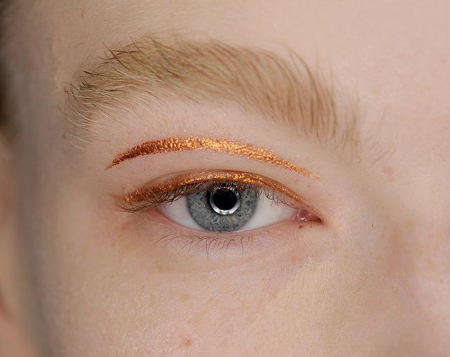 Holiday 204 Metallic Makeup Ideas: Holly Fulton