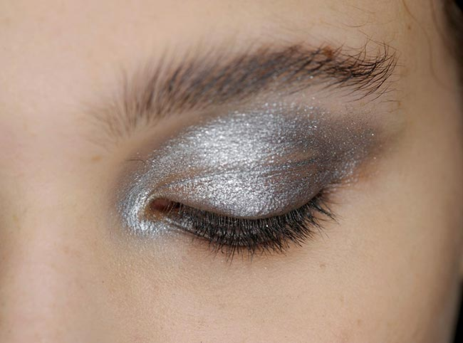 Holiday 204 Metallic Makeup Ideas: Donna Karan