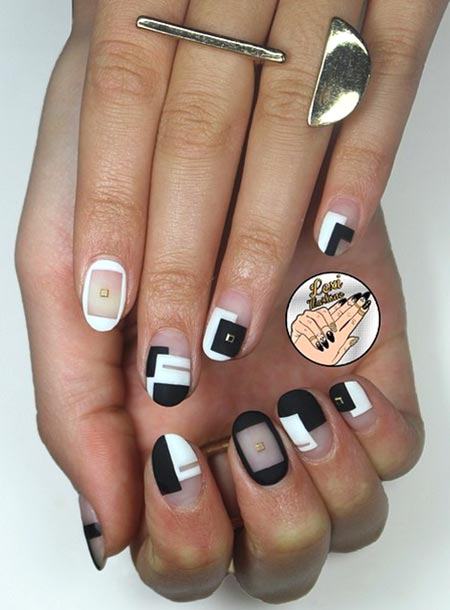 Negative space nail art ideas trendy for 2015 fashionisers negative space nail art ideas trendy for 2015 prinsesfo Images