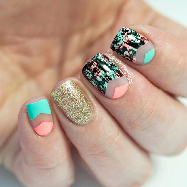 Negative Space Nail Art Ideas Trendy For 2015 Fashionisers