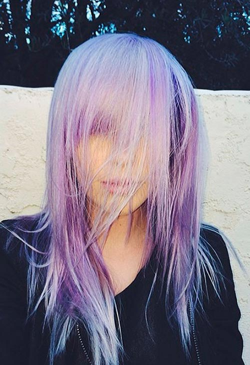 Pretty Pastel Hair Color Ideas: Ireland Baldwin